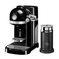 Капсульная кофемашина KitchenAid Nespresso, черный, + Aeroccino 3, 5KES0504EOB