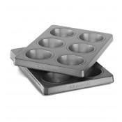 Форма для маффинов, капкейков (2 шт), KitchenAid, KBNSS06MF