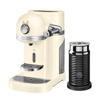 Капсульная кофемашина KitchenAid Nespresso, кремовый, + Aeroccino 3 5KES0504EAC
