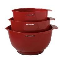 Чаши для смешивания KitchenAid, набор 3шт., KG175ER