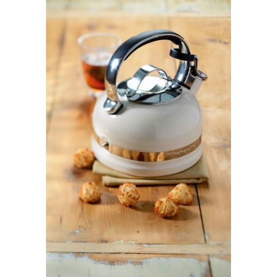 Чайник для плиты KitchenAid, кремовый, KTEN20SBAC