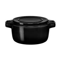 Кастрюля чугунная черная, 5,7 л, KitchenAid, KCPI60CROB