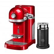 Капсульная кофемашина KitchenAid Nespresso, красный, + Aeroccino 3 5KES0504ER