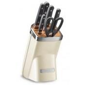 Набор ножей, 7 предметов, бежевый, KKFMA07AC