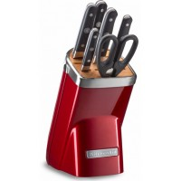Набор ножей, 7 предметов, карамельное яблоко,KitchenAid, KKFMA07CA